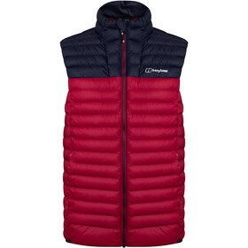 Berghaus Vaskye Vest Men, red dahlia/night sky